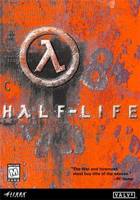 The box art for Half-Life