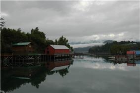 A portion of Halibut Cove