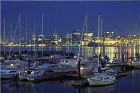 Downtown Halifax as seen from the Dartmouth waterfront