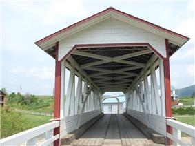 Halls Mill Covered Bridge