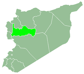 Hama Governorate within Syria