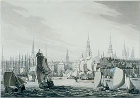 'Hamburg' by Robert Bowyer, 1814