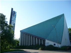 A modern church