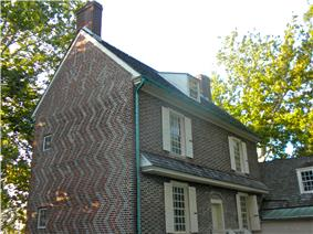 Hancock House in the Hancock's Bridge section of the township