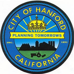 Official seal of Hanford, California