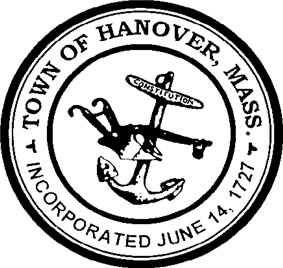 Official seal of Hanover, Massachusetts