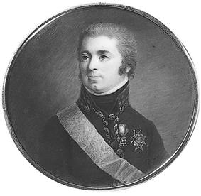 Round portrait of clean shaven man in Swedish military uniform