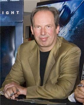 Photo of Hans Zimmer at The Dark Knight premiere in 2008.