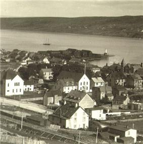 Harbour Grace water front ca. 1911