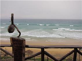 Indian Ocean seen from one of many province`s resorts