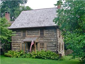 Harlan Log House