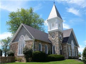 The Harmony United Methodist Church in Hamilton