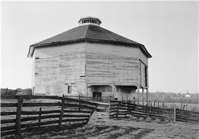 Harnsberger Octagonal Barn