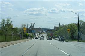South Bound US 61