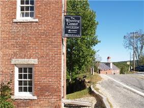 The historic mill village of Harrisville