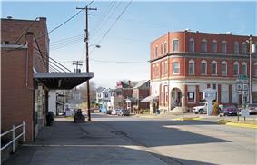Main Street in Harrisville in 2007