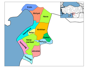 Districts of Hatay