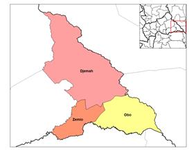 Sub-prefectures of Haut-Mbomou
