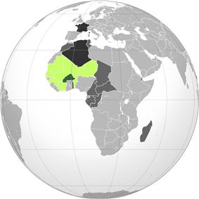 Location of Upper Volta
