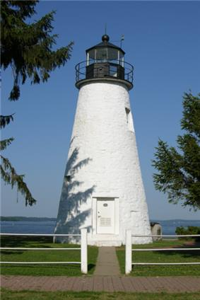 Concord Point Lighthouse, The Iconic Representation of HdG. Sits at the mouth of the Susquehanna River in Havre de Grace