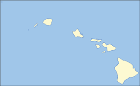 Location of the Diocese of Hawaii