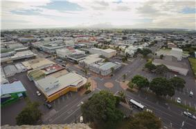 Hawera from the Water Tower