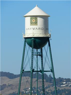 Historic Hunt's Cannery water tower