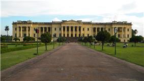 Hazarduari Palace front view
