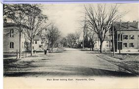 Main Street in Hazardville, circa 1906