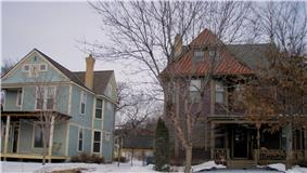 Healy Block Residential Historic District