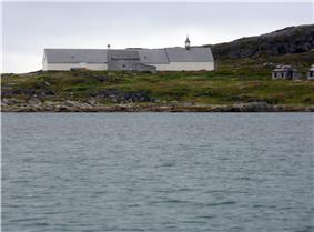 The mission at Hebron, Labrador.
