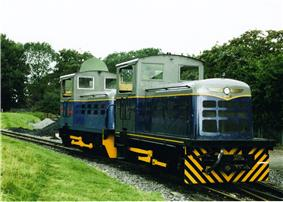 Victor and Hector at the Great Whipsnade Railway