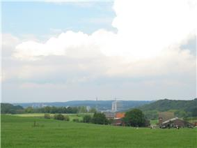 Heerlen skyline as seen from the nearby village of Vrouweheide