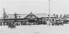 Pyongyang Station during the 1920s.