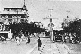 Pyongyang Tram during the 1920s.