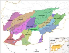 Helmand River drainage basin