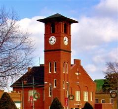 Historic downtown Henderson