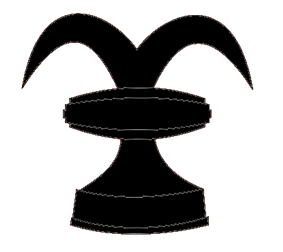 A chess rook as used in heraldry