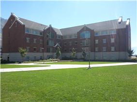 Photograph of Building 26 in Heritage Halls.