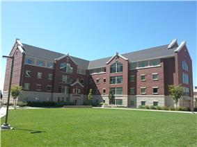 Photograph of Building 27 in Heritage Halls.