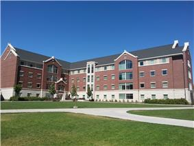 Photograph of Building 28 in Heritage Halls.