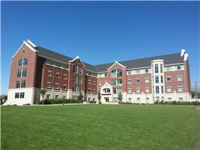 Photograph of Building 29 in Heritage Halls.