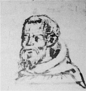 Hethoum II in Franciscan garb