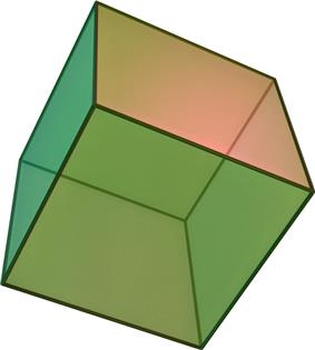 Hexahedron (cube)