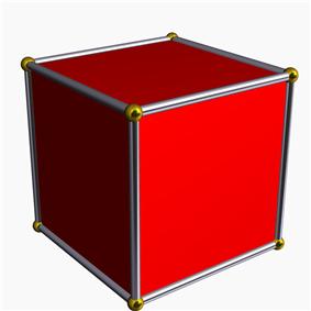 Hexahedron (cube)