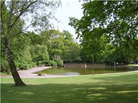 Recreation area Jacobipark