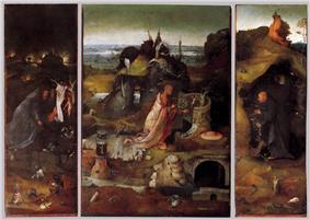 Hermit Saints Triptych