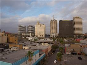 High-rises west of Broadway in Corpus Christi.jpg