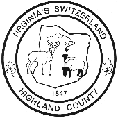 Seal of Highland County, Virginia