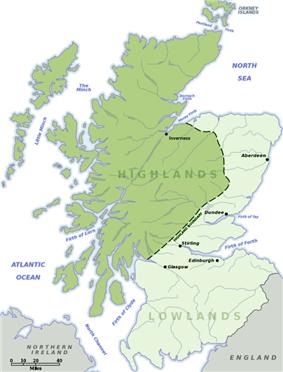 Lowland-Highland divide